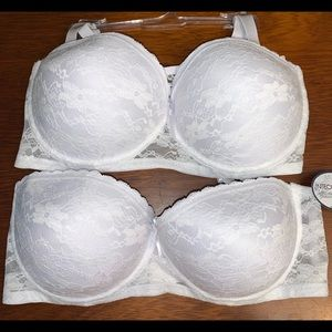 Other - Bundle of 2 stylish lace underwire bras- 40DD